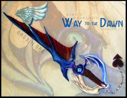 Way to the Dawn keyblade by 8-13