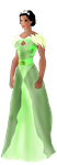 Disney meets Game of Thrones universe: Tiana by FIREARROW1