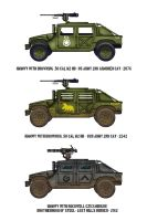 Fallout Humvees by penguin-commando