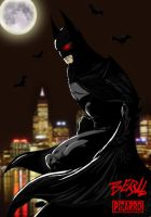 Batman by BeryllBat by VPizarro626