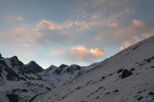 Annapurna Circuit - Day 9 - Early morning Sky by LLukeBE