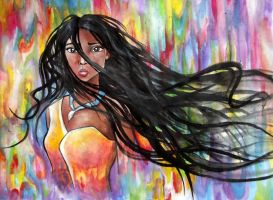 Colours of the Wind by Kyla-Nichole