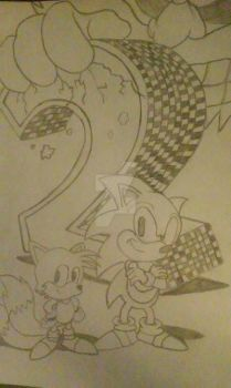 Sonic The Hedgehog 2 cover by ymrtc555602