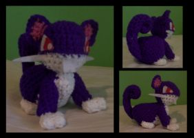 Rattata Plushie by Milayou