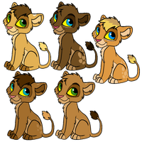 Cubs Batch 5 by JessiRenee