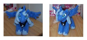 Princess Luna Plush by Helgafuggly
