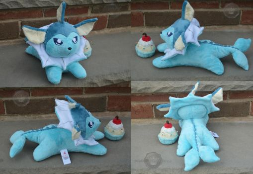 Lil Vaporeon~ by PlushPrincess