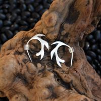 Circular Sawblade Earrings 16g by DreamingDragonDesign