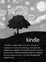 Customized Kindle Lock Screen by Dead4me