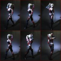 Harley Quinn [Arkham] papercraft by BRSpidey