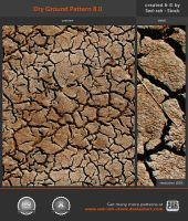 Dry Ground Pattern 8.0 by Sed-rah-Stock