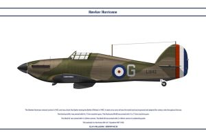 Hurricane GB 1 Sqn by WS-Clave