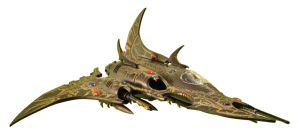 Dark Eldar - Razorwing Jetfighter (1) by sejason