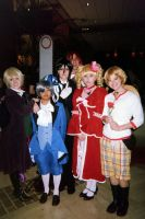 A-Kon 2014 Black Butler by KittyChanBB