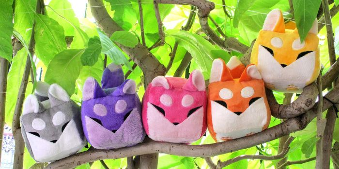 Boxfoxes on a Branch by Mamath