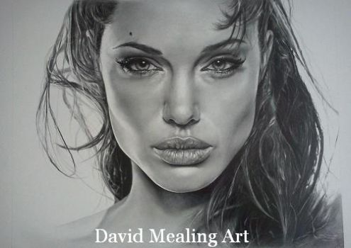 Angelina Jolie by Drawing-Dude-Dave