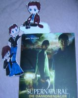 Supernatural bookmark by nufan2039