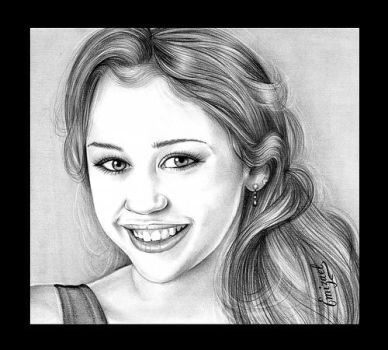 Young Miley Cyrus by emizael