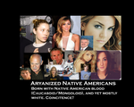 Aryanized Native Americans by GeneralHelghast