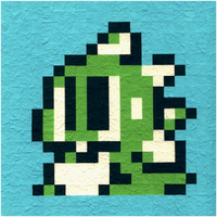 Bubble Bobble - Bub - Hud Icon by nintentofu