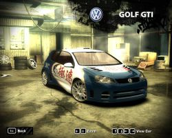 NFS Most Wanted (2005) - Volkswagen Golf GTI by DiRT2015
