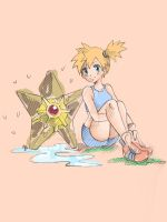 Misty and Staryu by dragonfly-world