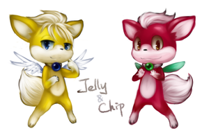 Chip and Jelly by Blailver