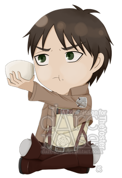 Commission - TheYoster - SnK-Eren (2) by darc-rose