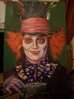 Mad Hatter, Johnny Depp by Neville23