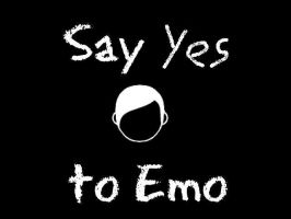 say yes to emo by fireflystarrs