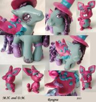 Mad Hatter and Doormouse Details by Roogna