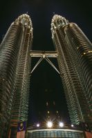 KLCC Twin Towers 2 by phantastes