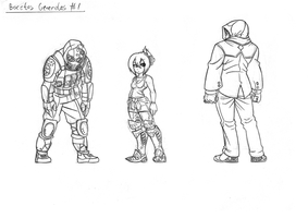 Villains and Rivals Concepts by FrancoTieppo