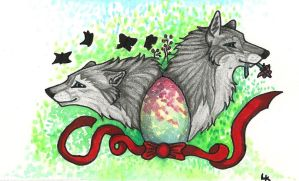 Easter by MayaWolf13