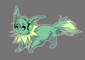 Vice the Eevee by WillowWhiskers