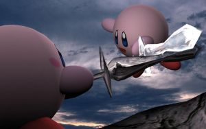 Kirby Battle by djmack8000