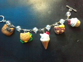 Hello Kitty Charm Bracelet by NinaBeezy