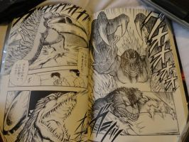 Godzilla 2000 Manga Final Fight Shot 5 by GIGAN05