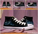 Expecto Patronum Shoes by LacernellaRubra
