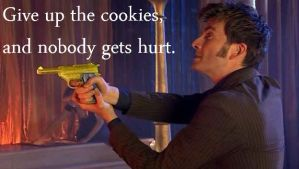 :3 Just give him the cookies by DoctorWhoFan220