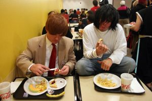Youmacon 2012 Light and L Dinner time by jjhale78