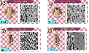 Animal Crossing New Leaf Ticci Toby Shirt by Eusong