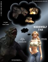 Werewolf Fan by locofuria