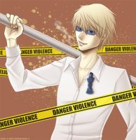 DRRR - Danger, Shizuo by Alenas