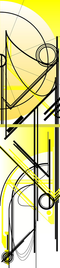Mah DIGITAL works! Abstract_v_Yellow_by_HMSpeedFreek