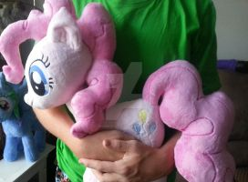 My Little Pony Huggable Pinkie Pie Plush by CINNAMON-STITCH