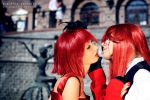 Madam Red and Grell by bellatrixaiden