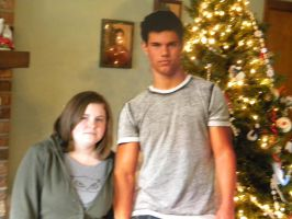 Me and Taylor Lautner by JoeltheJackwolf