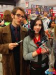 Fox McCloud Cosplay with 10th Doctor! by JustJesss