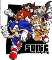 Sonic and Co. by geN8hedgehog